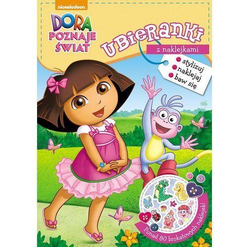 Bajki, Dora poznaje świat Ubieranki z naklejkami - Jeśli zamówisz do 14:00, wyślemy tego samego dnia. Darmowa dostawa, już od 300 zł.
