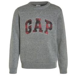 GAP ARCH CREW Sweter grey heather