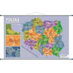 Polska Mapa Ścienna Kody Pocztowe - Praca Zbiorowa
