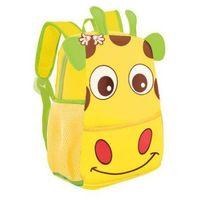 Tornistry i plecaki szkolne, Plecak neoprenowy Żyrafa żółta - Spokey