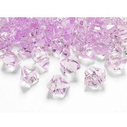 Kryształowy lód różowy - 2,5 x 2,1 cm - 50 szt.