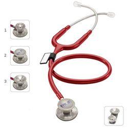 Stetoskop MDF MD One Epoch 777DT z TYTANU z głowicą 4w1 - burgundowy
