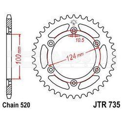 Zębatka tylna stalowa JT 735-38, 38Z, rozmiar 520 2301128 Ducati Supersport 900