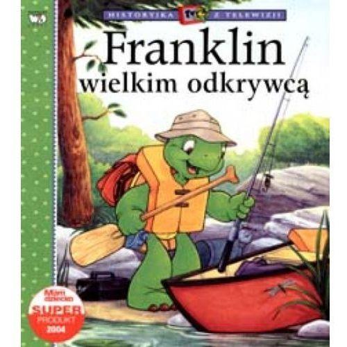 Książki dla dzieci, Franklin wielkim odkrywca (opr. broszurowa)