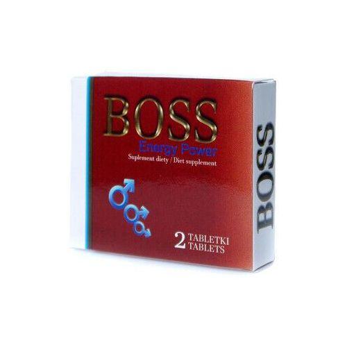 Leki na potencję, Boss Energy Power CZERWONY 2 tabl. NOWOŚĆ 802523