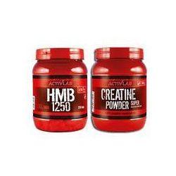 Zestaw ACTIVLAB Creatine Powder 500g + HMB 1250 XXL TABS 230tabs Najlepszy produkt Najlepszy produkt tylko u nas!