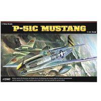 Figurki i postacie, Model plastikowy P-51C Mustang Red Tails