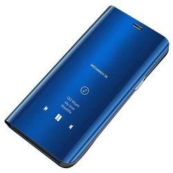 Clear View Case futerał etui z klapką Huawei P Smart 2019 niebieski