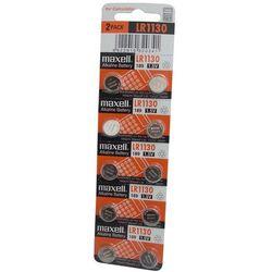 10 x bateria alkaliczna mini Maxell G10 / LR1130 / 189