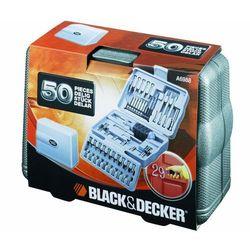 Zestaw kulczy nasadowych i bitów BLACK&DECKER A6988-XJ (50 elementów) + Zamów z DOSTAWĄ JUTRO!