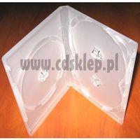 Pudełka i portfele na płyty, Etui plastikowe na 3DVD 14mm matowe