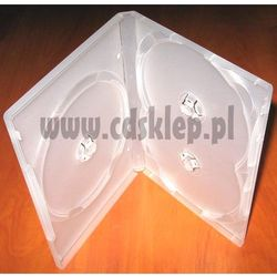 Etui plastikowe na 3DVD 14mm matowe