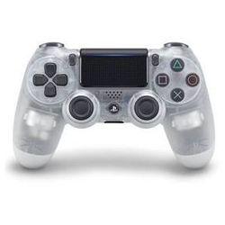 Gamepad Sony Dual Shock 4 pro PS4 v2 - křišťálový (PS719868361)