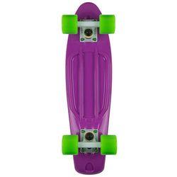 Deskorolka Fishskateboards Purple / White / Green