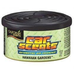 California Scents odświeżacz puszka zapachowa do auta Hawaiian Gardens zapach hawajskich ogrodów