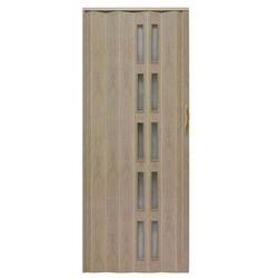 Drzwi harmonijkowe Natura 005S-80-50