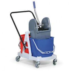 Wózek do sprzątania plastikowy