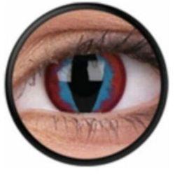 Soczewki kolorowe niebieskie DREAM SLEYER Crazy Lens 2 szt.
