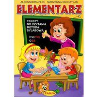 Książki dla dzieci, Elementarz Teksty do czytania metodą sylabową (opr. miękka)