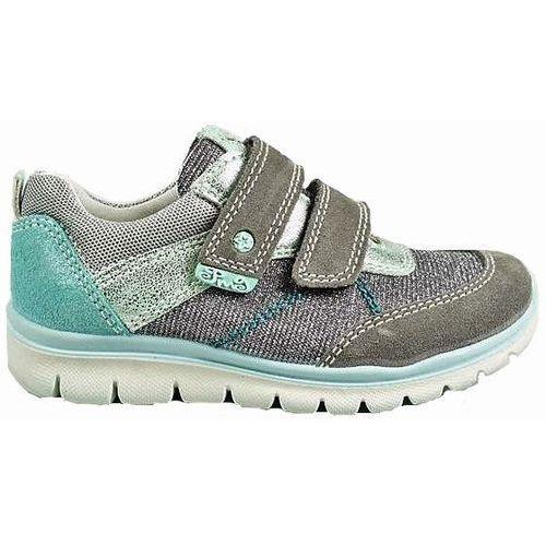 Buty sportowe dla dzieci, Primigi dziewczęce tenisówki brokatowe 34 szary