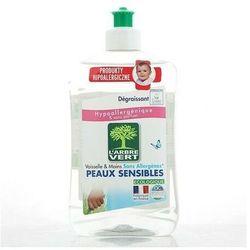 L'ARBRE VERT 500ml Sensitive Ekologiczny płyn do mycia naczyń - bezzapachowy - Bezzapachowy