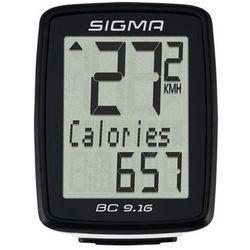 Licznik rowerowy SIGMA BC 9.16 Przewodowy - 09160- Zamów do 16:00, wysyłka kurierem tego samego dnia!
