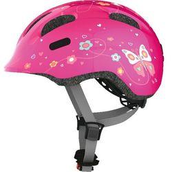 ABUS Smiley 2.0 Kask rowerowy Dzieci, pink bttrfly S   45-50cm 2019 Kaski dla dzieci Przy złożeniu zamówienia do godziny 16 ( od Pon. do Pt., wszystkie metody płatności z wyjątkiem przelewu bankowego), wysyłka odbędzie się tego samego dnia.