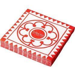 Serwetki papierowe milano czerwone 20 szt.