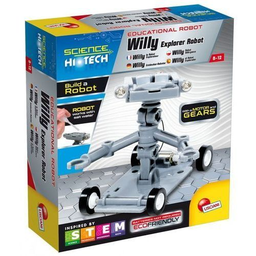 Roboty dla dzieci, Science Hi Tech Willy Robot Odkrywca