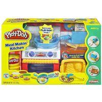 Ciastolina, Play-Doh - Zestaw ciastolina Kuchnia 20 elementów 22465