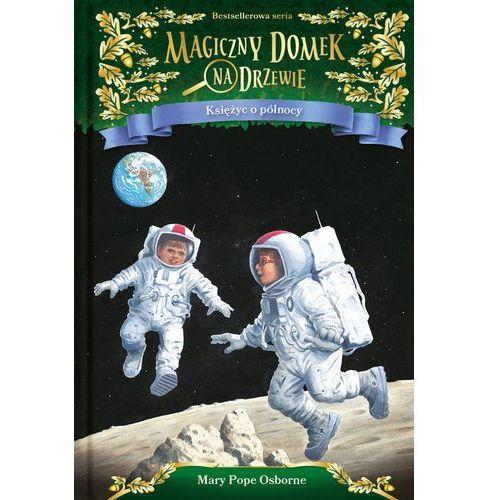 Książki dla dzieci, Magiczny domek na drzewie T.8 Księżyc o północy (opr. twarda)