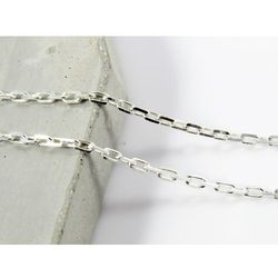 Srebrny (925) łańcuszek ANKIER 50 cm + OPAKOWANIE