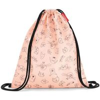 Torby i worki szkolne, reisenthel® Worek mysac kids cats and dogs rose