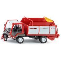 Pozostałe samochody i pojazdy dla dzieci, Model SIKU Farmer Transporter Lindner z przyczepą 3061