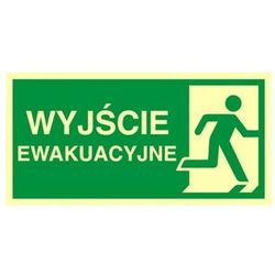 znak kierunek do wyjścia ewakuacyjnego- w prawo