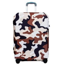 BG Berlin pokrowiec na dużą walizkę / rozmiar L / Camo Safari - Camo Safari