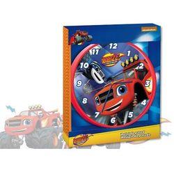 Zegar ścienny Blaze i Mega Maszyny