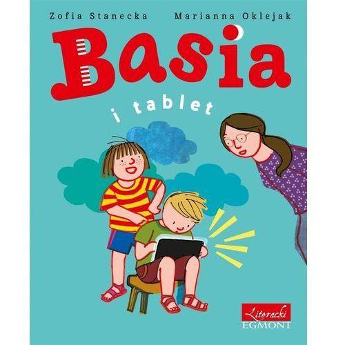 Książki dla dzieci, Basia i tablet (opr. twarda)
