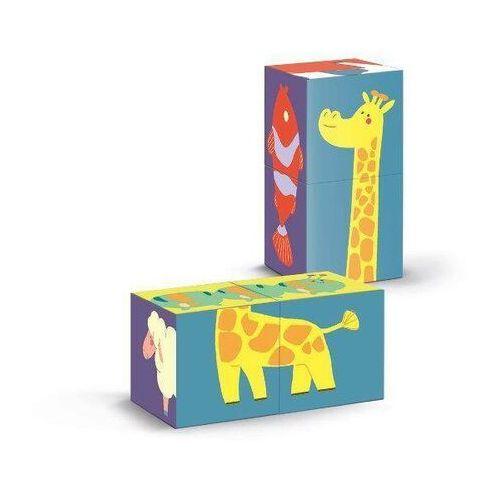 Puzzle, Kostki Kształty - Zwierzęta
