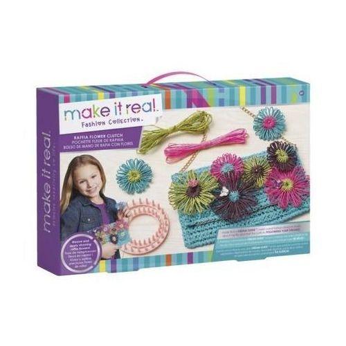 Kreatywne dla dzieci, Raffia Flower Clutch - Tworzenie kwiatów