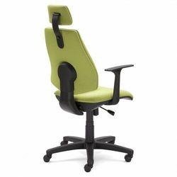Krzesło obrotowe GEM HRU TS06 GTP46 - biurowe z zagłówkiem, fotel biurowy, obrotowy
