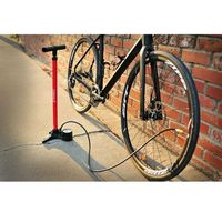 Pompki rowerowe, Pompka podłogowa LEZYNE MACRO FLOOR DRIVE ABS-1 CHUCK 160psi czarna połysk (NEW)