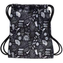 Nike Sportswear Plecak na sznurkach czarny / biały