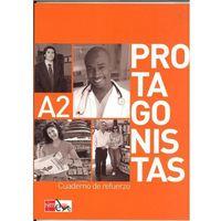 Książki do nauki języka, Protagonistas A2 Cuaderno de refurerzo (opr. miękka)