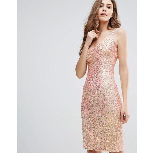 Suknie i sukienki, French Connection Celia Sequin Cami Dress - Pink
