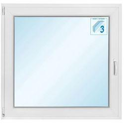 Okno PCV rozwierno - uchylne 1065 x 1025 mm białe lewe