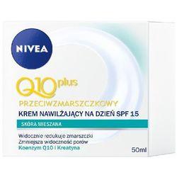 Nivea Q10 Plus Krem Przeciwzmarszczkowy na Dzień do Cery Mieszanej 50 ml