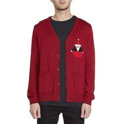 sweter VOLCOM - Santastone Cardigan Deep Red (DRE)
