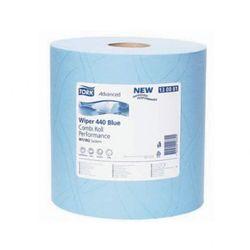 Wielofunkcyjna ścierka Tork Premium niebieska rolka 510 Combi