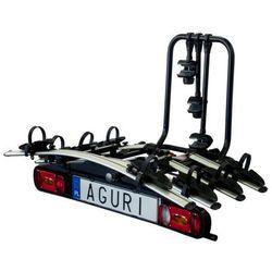 Platforma bagażnik rowerowy na hak Aguri Active Bike 4 rowery